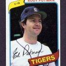 1980 Topps Baseball #059 Eddy Putman - Detroit Tigers
