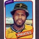 1980 Topps Baseball #055 Bill Madlock - Pittsburgh Pirates NM-M