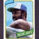 1980 Topps Baseball #046 Rico Carty - Toronto Blue Jays