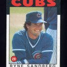 1986 Topps Baseball #690 Ryne Sandberg - Chicago Cubs