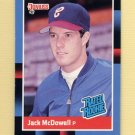 1988 Donruss Baseball #047 Jack McDowell RC - Chicago White Sox NM-M
