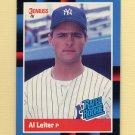 1988 Donruss Baseball #043 Al Leiter RC - New York Yankees