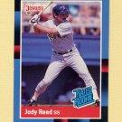 1988 Donruss Baseball #041 Jody Reed RC - Boston Red Sox