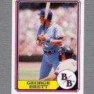 1987 Boardwalk and Baseball #13 George Brett - Kansas City Royals