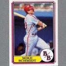 1987 Boardwalk and Baseball #01 Mike Schmidt - Philadelphia Phillies