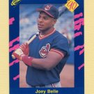 1990 Classic Blue Baseball #100 Joey Belle - Cleveland Indians