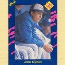 1990 Classic Blue Baseball #035 John Olerud - Toronto Blue Jays