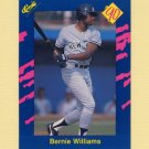 1990 Classic Blue Baseball #010 Bernie Williams - New York Yankees