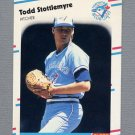 1988 Fleer Update Baseball #068 Todd Stottlemyre RC - Toronto Blue Jays