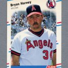 1988 Fleer Update Baseball #014 Bryan Harvey RC - California Angels