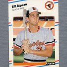 1988 Fleer Baseball #569 Bill Ripken RC - Baltimore Orioles