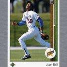 1989 Upper Deck Baseball #020 Juan Bell RC - Los Angeles Dodgers