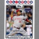 2008 Topps Update Baseball #UH322 Edinson Volquez AS - Cincinnati Reds