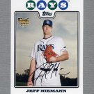2008 Topps Update Baseball #UH321 Jeff Niemann RC - Tampa Bay Rays