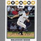 2008 Topps Update Baseball #UH302 Brandon Moss - Pittsburgh Pirates
