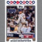 2008 Topps Update Baseball #UH292 Ryan Dempster AS - Chicago Cubs