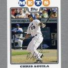 2008 Topps Update Baseball #UH281 Chris Aguila - New York Mets