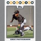 2008 Topps Update Baseball #UH263 Eric Patterson - Oakland A's