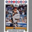2008 Topps Update Baseball #UH244 Brandon Webb AS - Arizona Diamondbacks