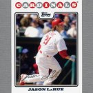 2008 Topps Update Baseball #UH164 Jason LaRue - St. Louis Cardinals