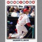 2008 Topps Update Baseball #UH164 Jason LaRue - St. Louis Cardinals