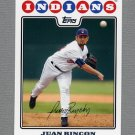 2008 Topps Update Baseball #UH156 Juan Rincon - Cleveland Indians