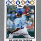 2008 Topps Update Baseball #UH144 Robinson Tejeda - Kansas City Royals