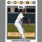 2008 Topps Update Baseball #UH140 Dana Eveland - Oakland A's