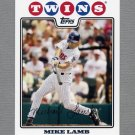 2008 Topps Update Baseball #UH115 Mike Lamb - Minnesota Twins