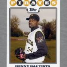 2008 Topps Update Baseball #UH098 Denny Bautista - Pittsburgh Pirates