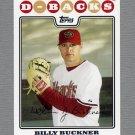 2008 Topps Update Baseball #UH091 Billy Buckner - Arizona Diamondbacks