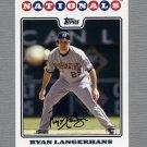 2008 Topps Update Baseball #UH087 Ryan Langerhans - Washington Nationals