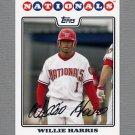 2008 Topps Update Baseball #UH079 Willie Harris - Washington Nationals