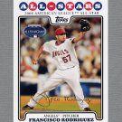2008 Topps Update Baseball #UH076 Francisco Rodriguez AS - Los Angeles Angels