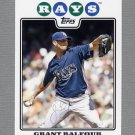 2008 Topps Update Baseball #UH048 Grant Balfour - Tampa Bay Rays