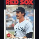 1986 Topps Baseball #060 Dwight Evans - Boston Red Sox