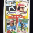 1986 Topps Baseball #006 Pete Rose Special: '79-'82
