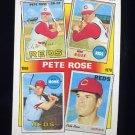 1986 Topps Baseball #003 Pete Rose Special: '67-'70 - Cincinnati Reds