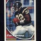 1994 Topps Special Effects Football #648 Eric Bieniemy - San Diego Chargers