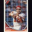 1994 Topps Special Effects Football #520 Joe Montana - Kansas City Chiefs