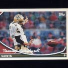 1994 Topps Special Effects Football #498 Tommy Barnhardt - New Orleans Saints