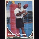1994 Topps Special Effects Football #435 Michael Haynes - New Orleans Saints