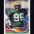 1994 Topps Special Effects Football #434 Sean Jones - Green Bay Packers
