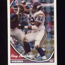 1994 Topps Special Effects Football #429 Roy Barker - Minnesota Vikings