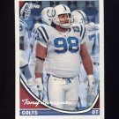 1994 Topps Special Effects Football #416 Tony Siragusa - Indianapolis Colts
