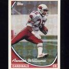 1994 Topps Special Effects Football #394 Aeneas Williams - Arizona Cardinals