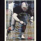 1994 Topps Special Effects Football #386 Rob Fredrickson RC - Los Angeles Raiders