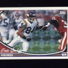 1994 Topps Special Effects Football #379 Eric Guliford RC - Minnesota Vikings