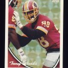 1994 Topps Special Effects Football #366 Tony Woods - Washington Redskins