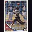1994 Topps Special Effects Football #341 Vance Johnson - San Diego Chargers